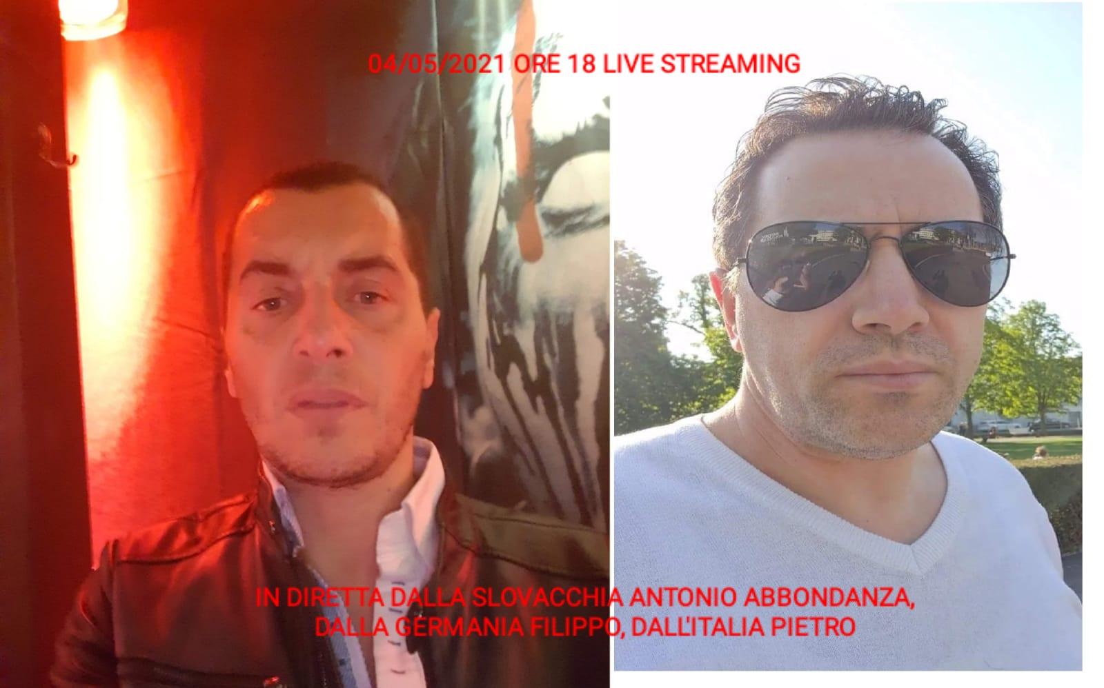 LIVE STREAMING 04/05/2021 ORE 18:00 GERMANIA (Filippo) - SLOVACCHIA (Antonio Abbondanza) - ITALIA (Pietro) PARTE 1