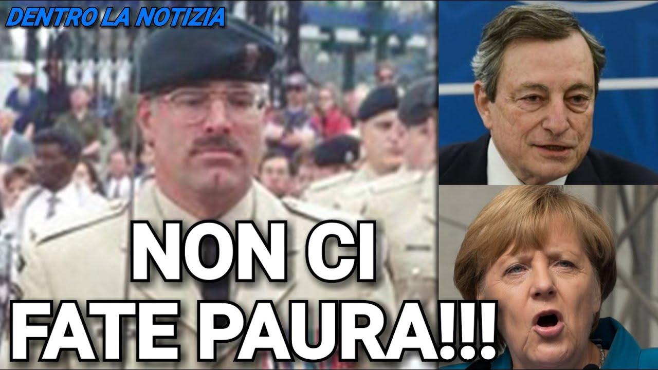 COLONNELLO: STANNO USANDO LA STRATEGIA DEL TERRORE, IL GOVERNO FA DISINFORMAZIONE DA OLTRE UN ANNO!!