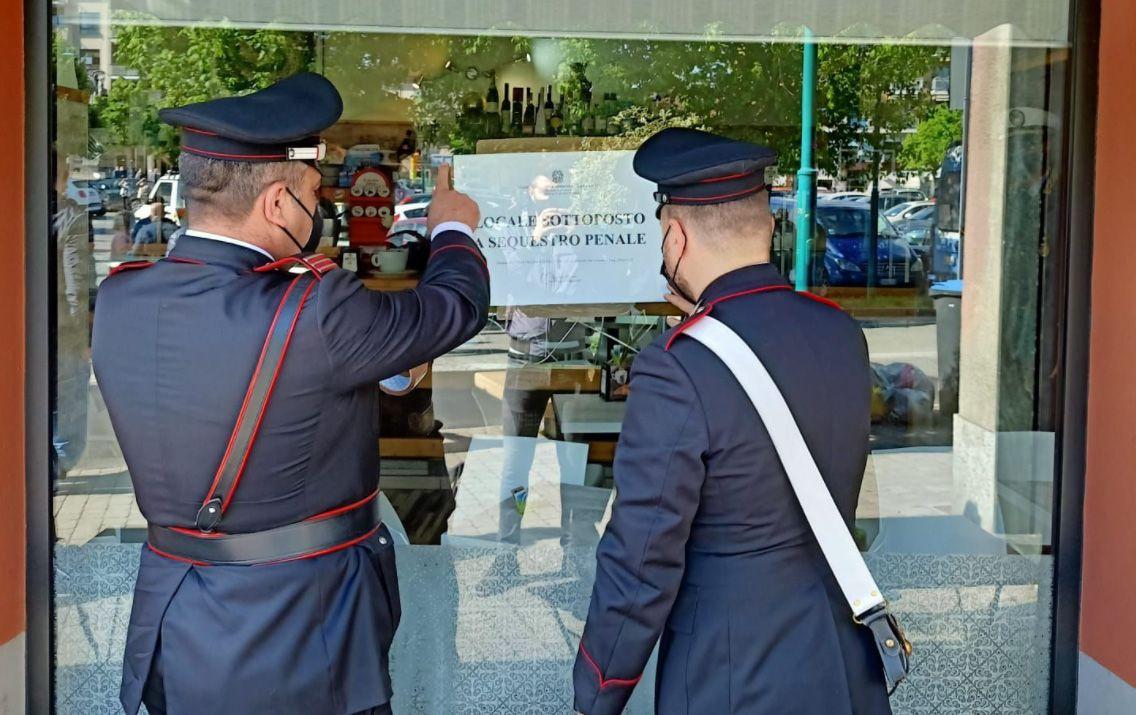I carabinieri chiudono la Torteria ribelle di Chivasso!!!