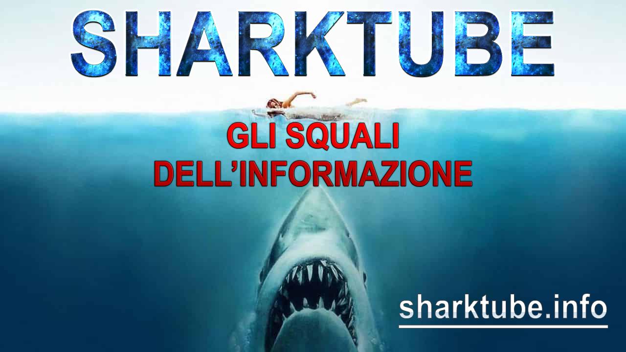 SHARKTUBE! GLI SQUALI DELL'INFORMAZIONE!!!