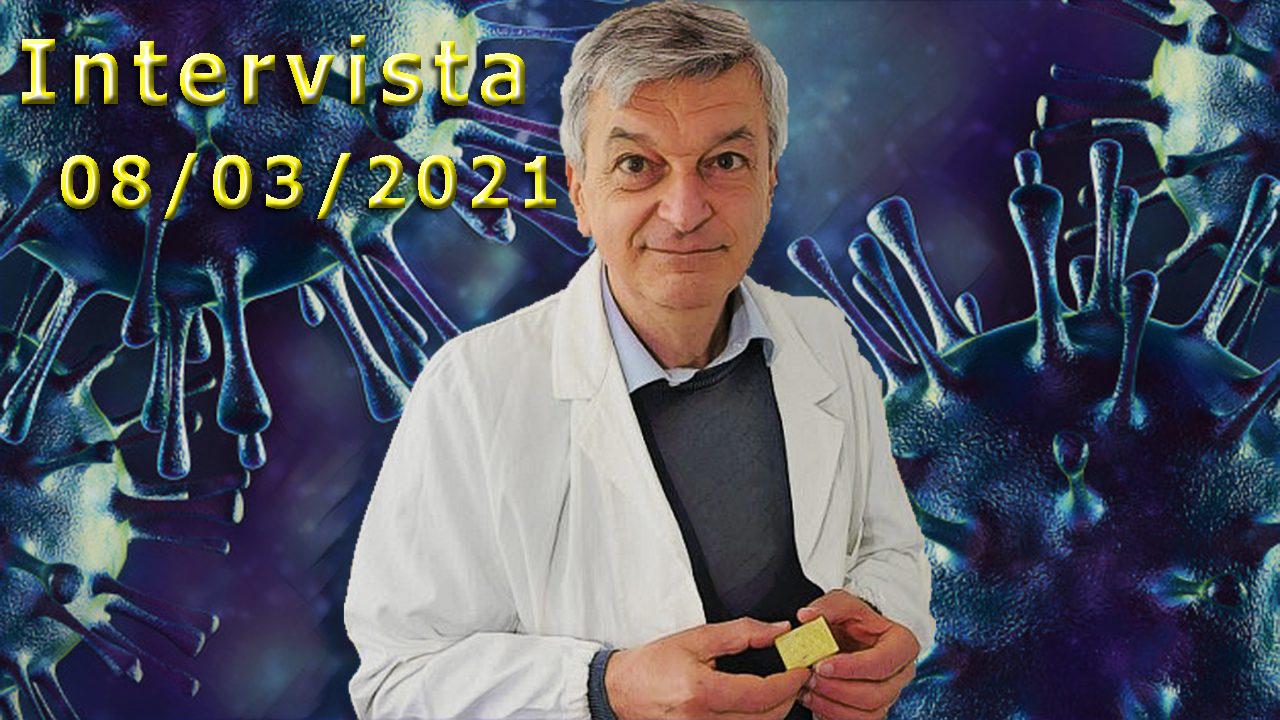 Intervista del 08/03/2021 al dott. Stefano Montanari
