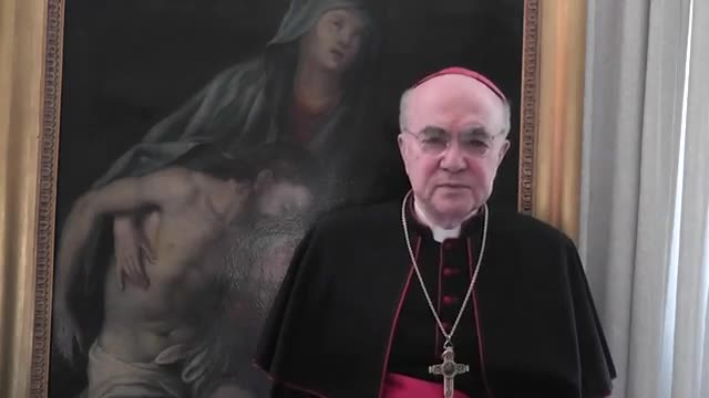 Questo video in 13 ore è stato cancellato da YouTube. Monsignor Viganò attacca l'èlite....