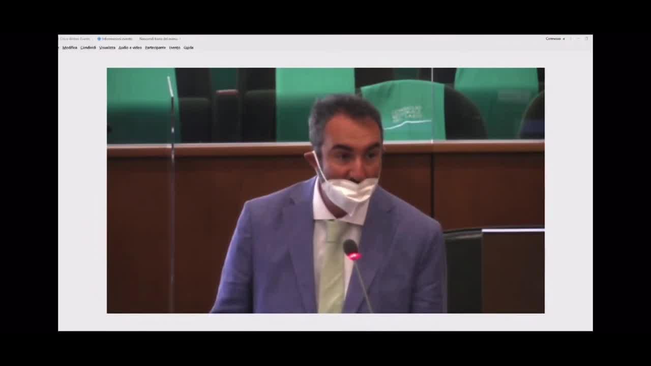 NON OBBLIGO GREENPASS VACCINI: intervento On. Davide Barillari durante la seduta n.95 del Consiglio Regionale del Lazio (16-06--2021)