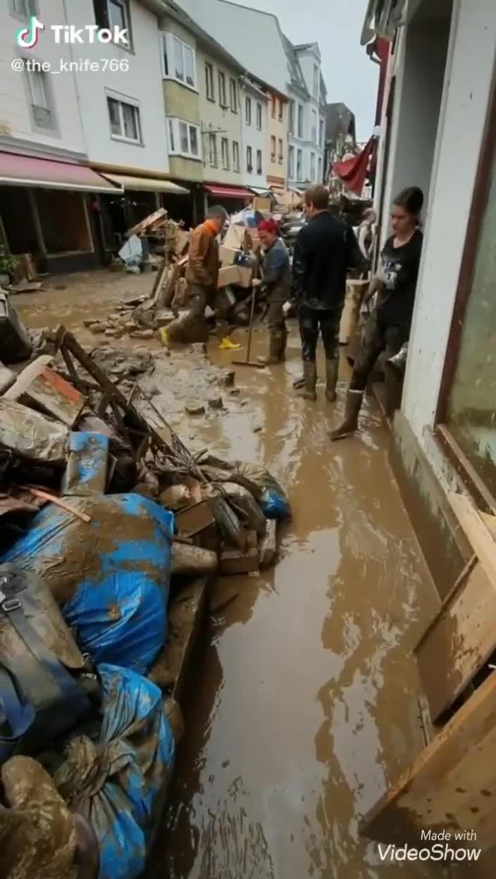 Dramma alluvione Germania