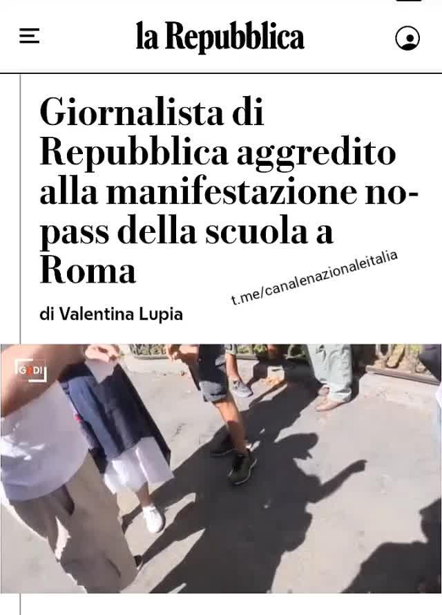 Giornalisti aggrediti a Roma