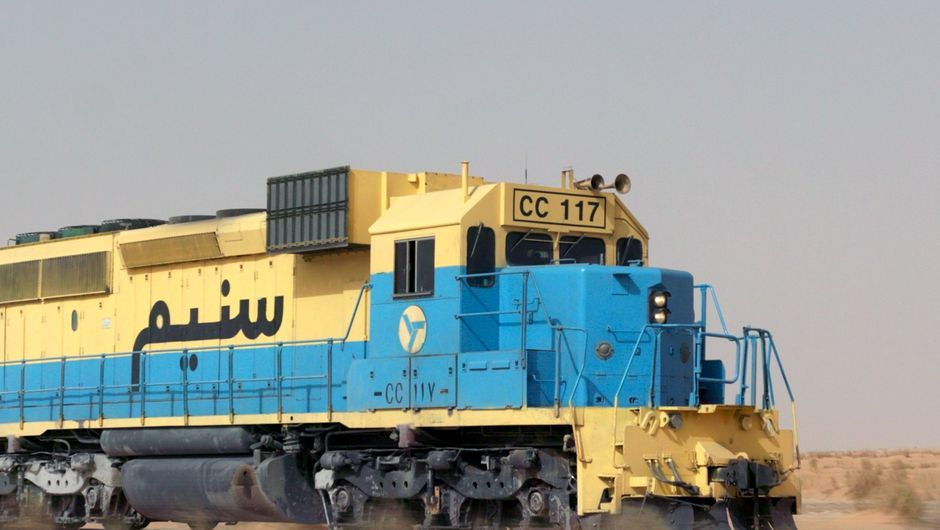 Il treno del Sahara