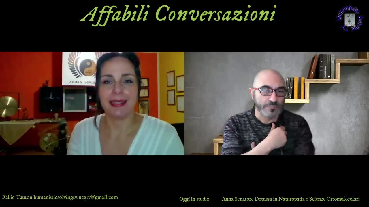 HMSTV – Fabio Tauton intervista Anna Senatore Naturopata e Assistente sessuale Olistica.